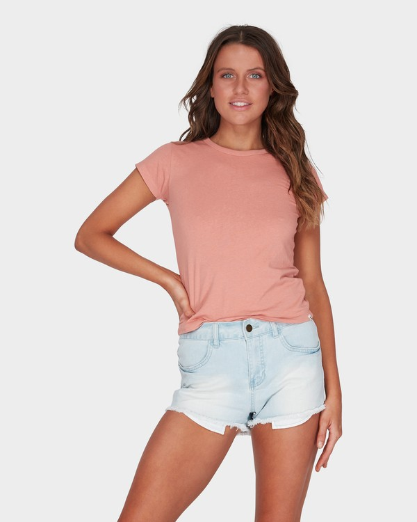 0 WHAT MIGHT BE TEE Brown 6581144 Billabong