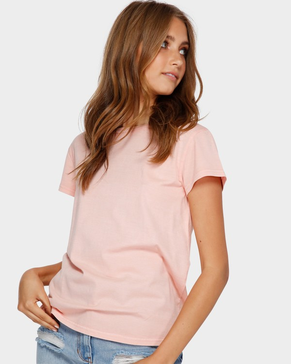 0 Echo Tee Pink 6581149 Billabong