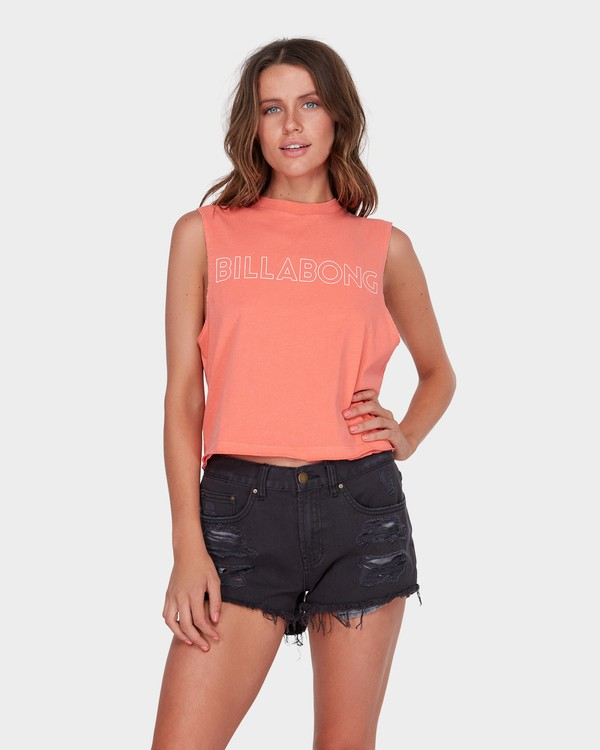 0 HOLDIN ON MUSCLE Pink 6581181 Billabong