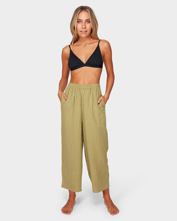 0 OLIVIA PANTS Green 6581402 Billabong