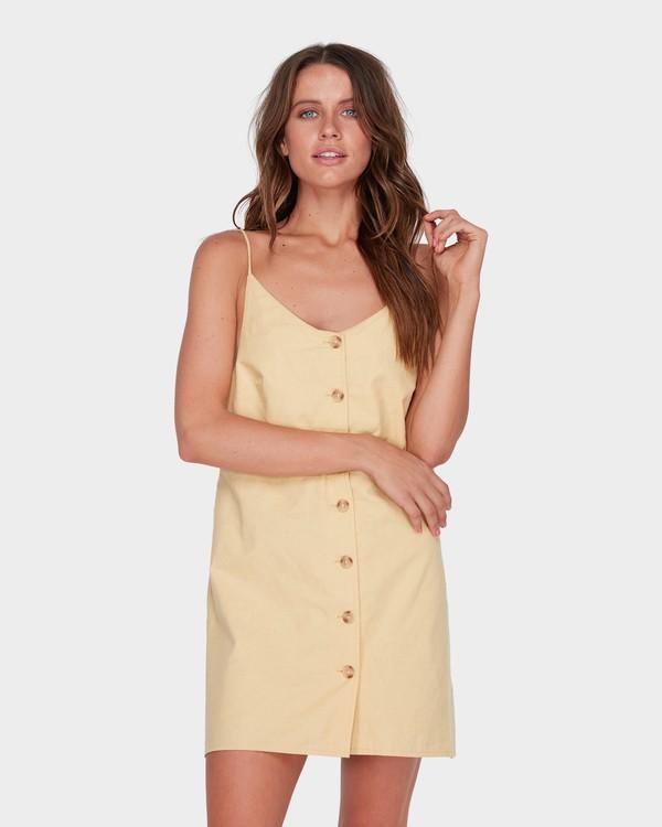 0 PRIMAVERA DRESS Yellow 6581482 Billabong