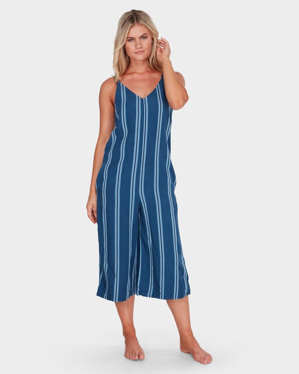 0 WAVELINE STRIPE JUMPSUIT Purple 6581507 Billabong
