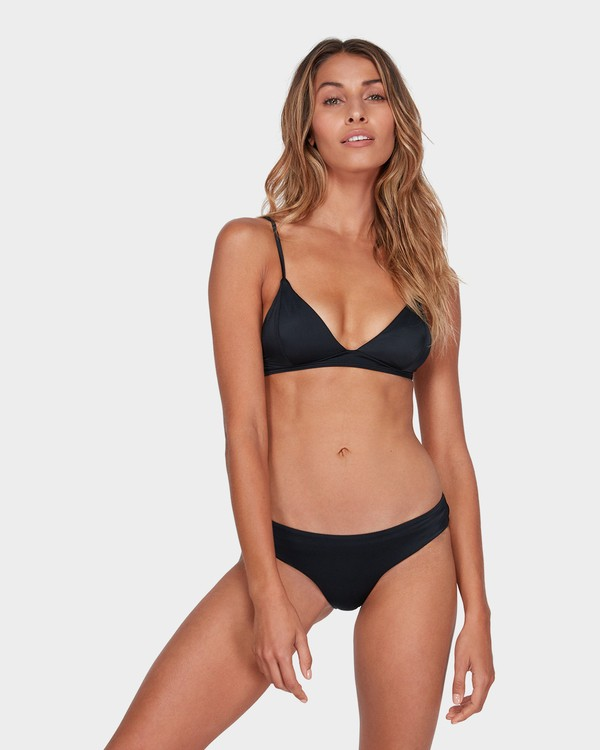 0 SOL SEARCHER ISLAND BIKINI TOP Black 6581552 Billabong