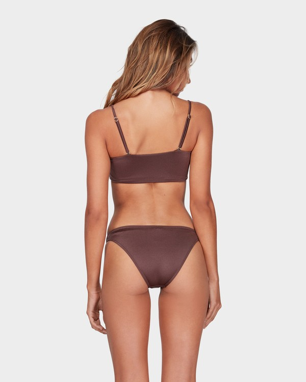 0 SEA CHASER TROPIC BIKINI BOTTOM Brown 6581561 Billabong