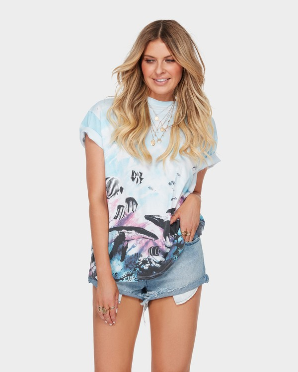 0 THE BLUE CRUSH TEE  6582147 Billabong