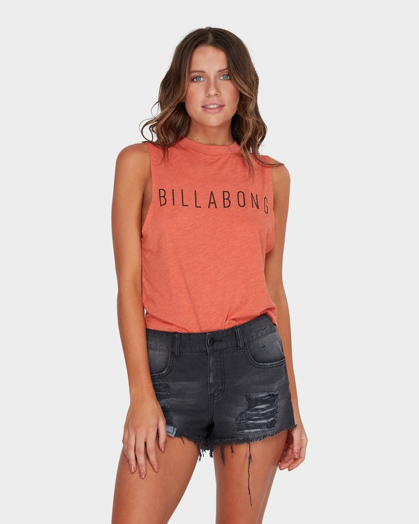 0 CHEVY CROP MUSCLE Red 6582189 Billabong