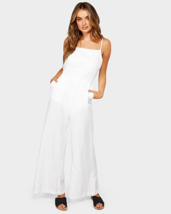 0 JOSIE JUMPSUIT White 6582515 Billabong