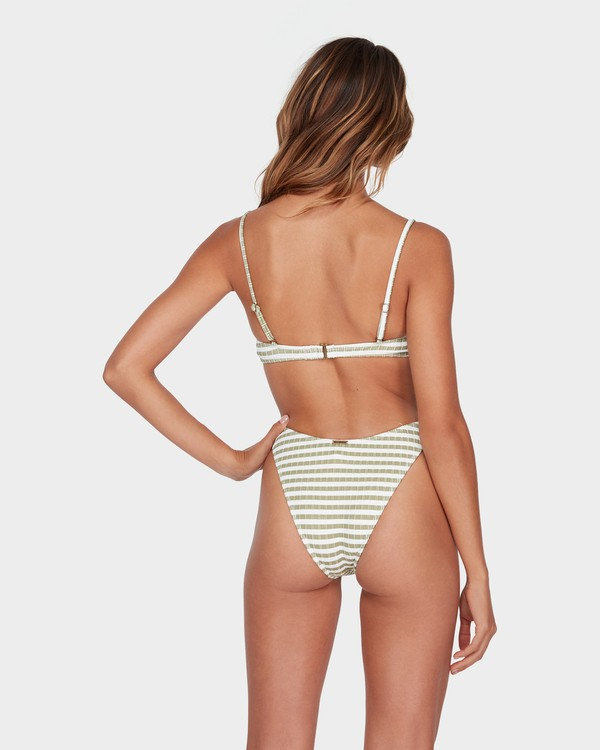 0 SUNS OUT STRIPE HIKE BIKINI BOTTOM Green 6582623 Billabong