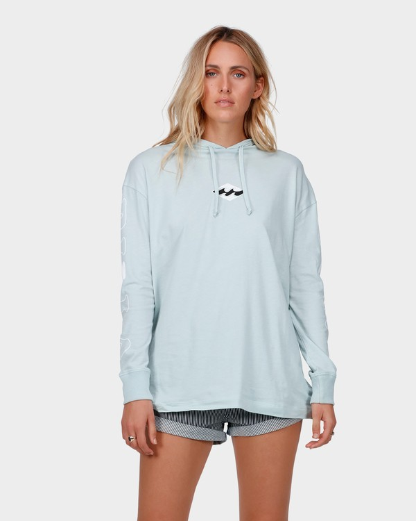 0 COLLIDE LONG SLEEVE TEE Blue 6585076 Billabong