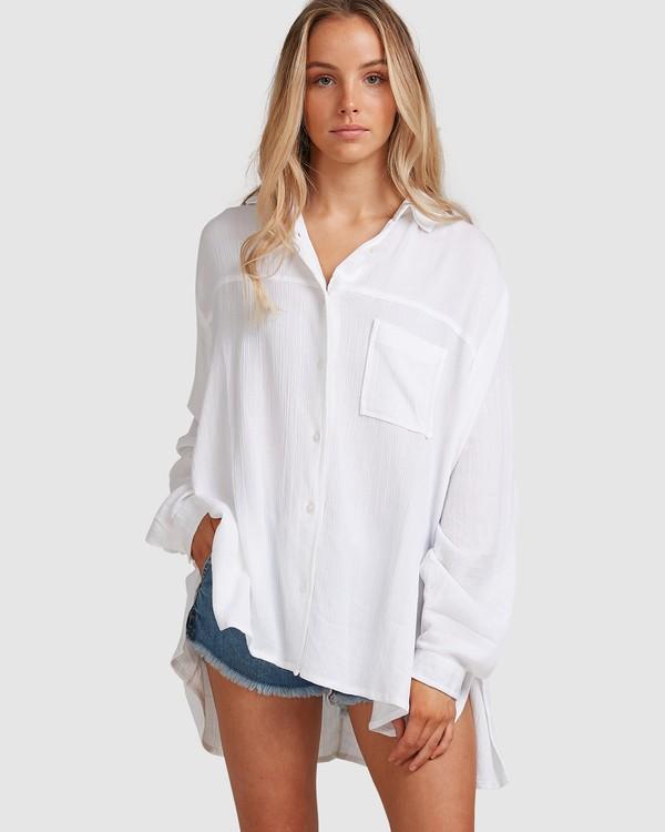 0 Strangers Shirt White 6591105 Billabong