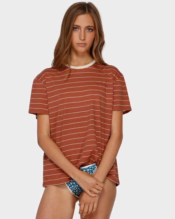 0 SUN SLUMBER TEE Brown 6591135 Billabong
