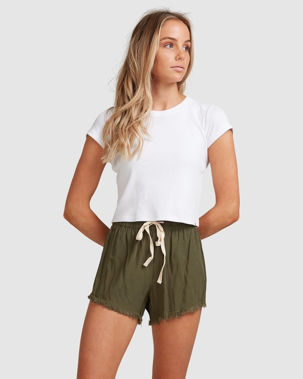 0 Salt Wrecked Shorts Green 6591276 Billabong