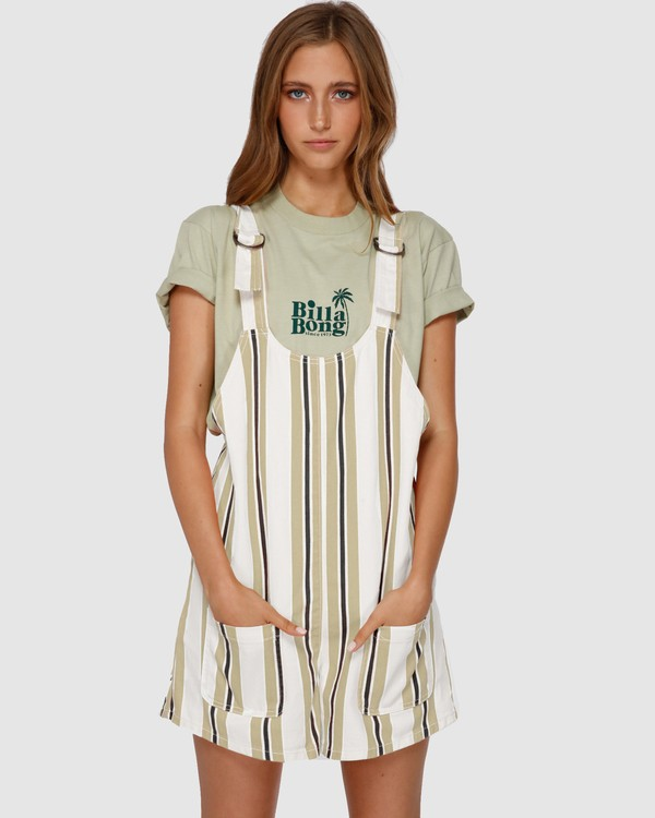 0 ISLAND VIBES PLAYSUIT White 6591278 Billabong