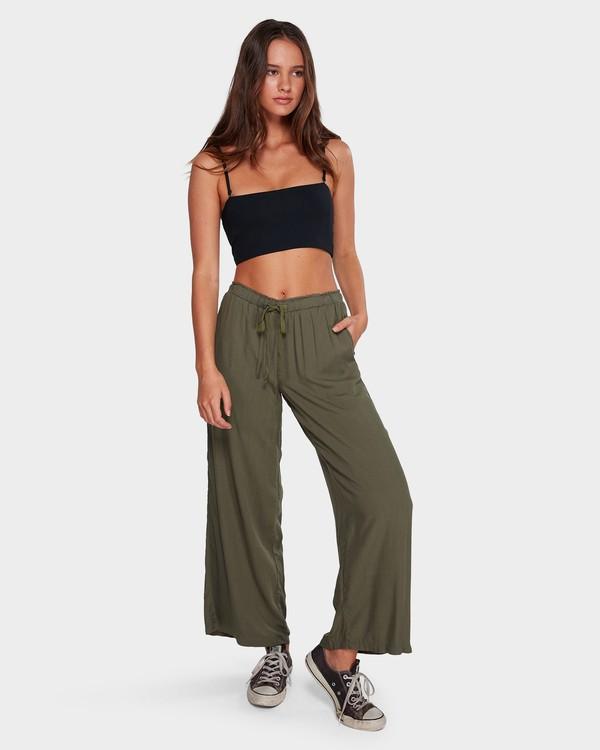 0 Salty Tides Pants Green 6591406 Billabong