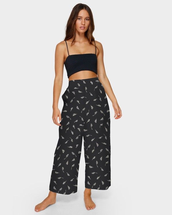 0 WHISPERING LUCIA PANTS Black 6591416 Billabong