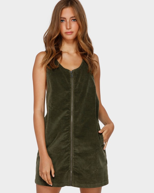 0 MANNIX CORD DRESS Green 6591475 Billabong