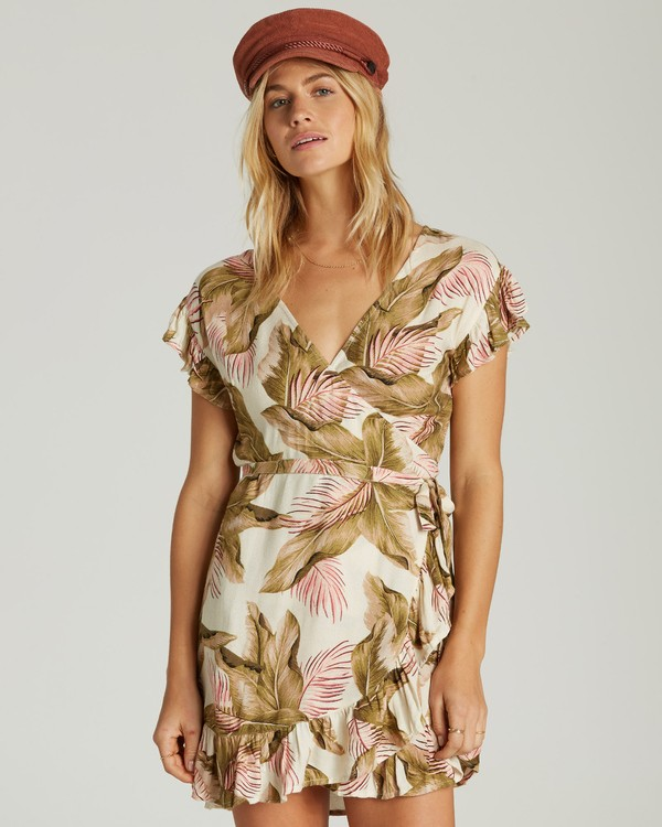 0 WRAP AND ROLL DRESS  6591491X Billabong
