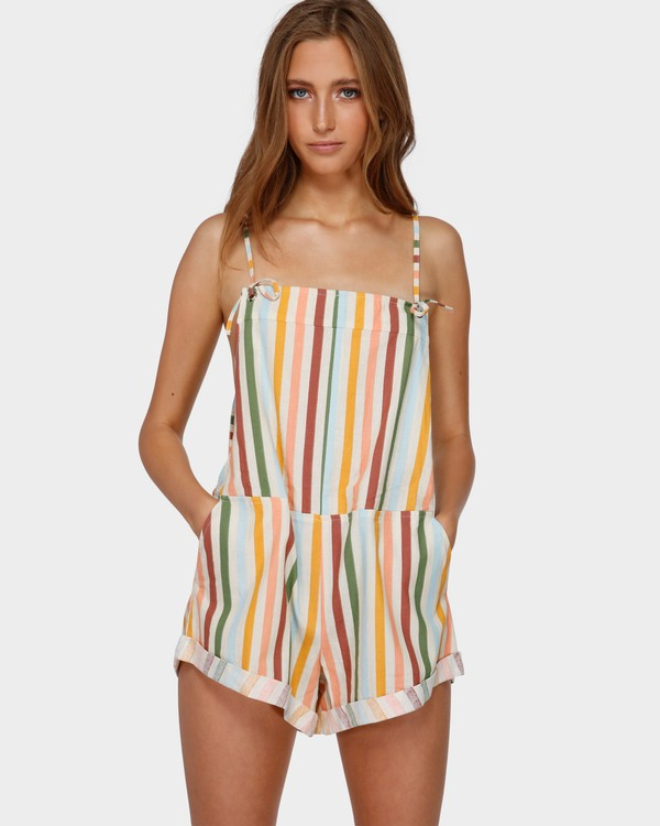 0 FIESTA OVERALLS White 6591513 Billabong