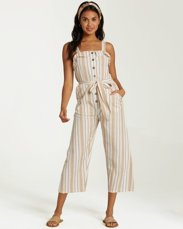 0 SANDY TOES JUMPSUIT White 6591529X Billabong