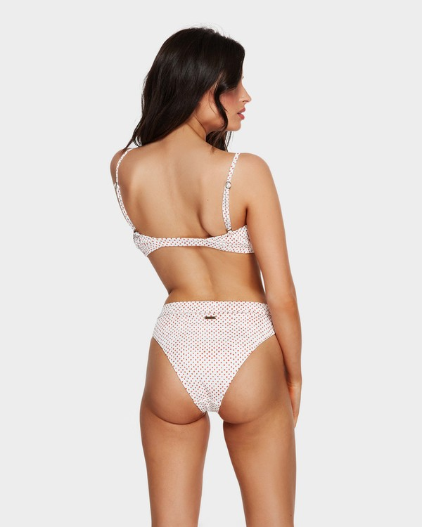 0 CANDY MAUI RIDER BIKINI BOTTOMS White 6591554 Billabong