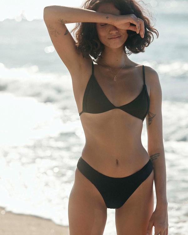 0 Sol Searcher Hi Point Tri Bikini Top Black 6591571 Billabong