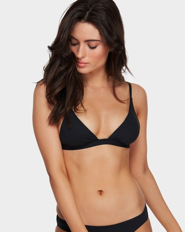 0 SOL SEARCHER ELONGATED TRI BIKINI TO Black 6591571 Billabong