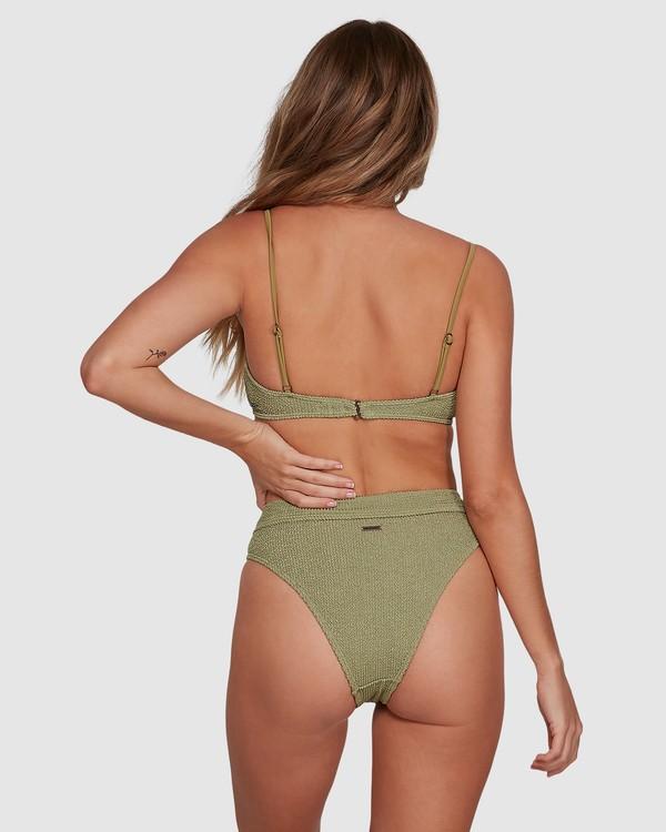 0 Summer High Maui Rider Bikini Bottoms Green 6591609 Billabong
