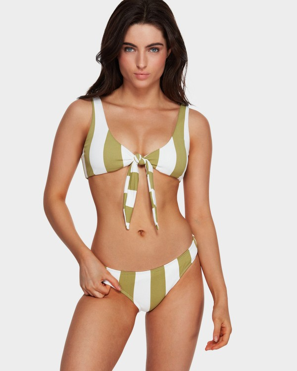 0 Sunray Two Ways Tie Bikini Top Green 6591626 Billabong