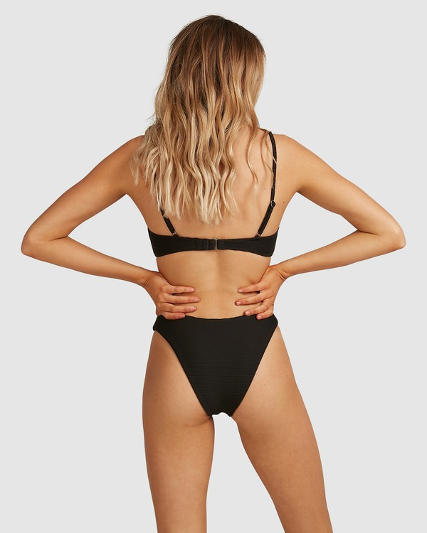 0 Tanlines Hike Bikini Bottoms Black 6591633X Billabong