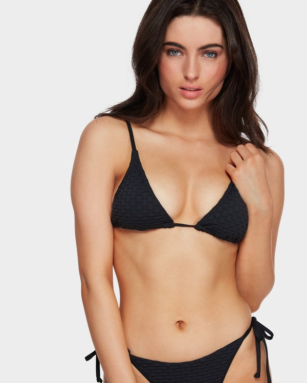 0 Lovelock Long Tri Bikini Top Black 6591665 Billabong