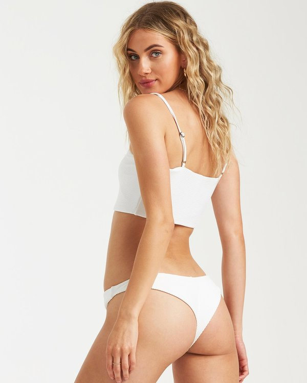 0 Tanlines Tanga Bikini Bottoms White 6591709X Billabong