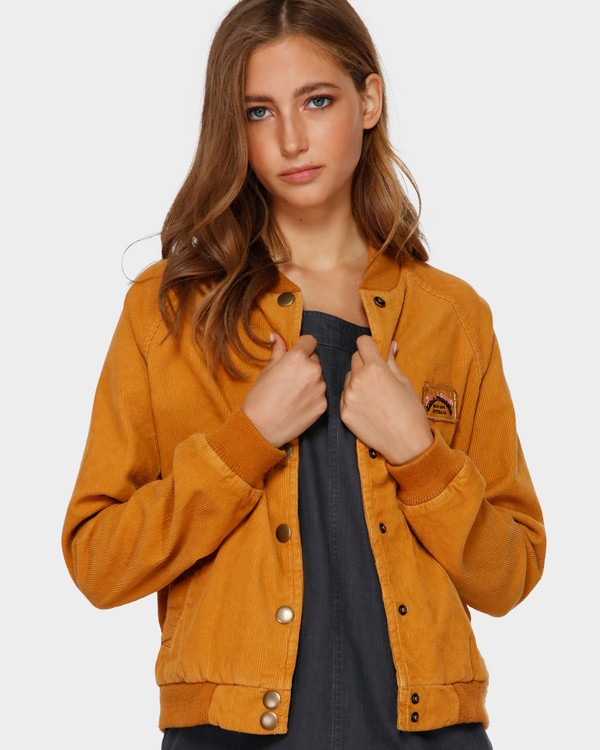 0 THIS WAY JACKET Yellow 6591890X Billabong