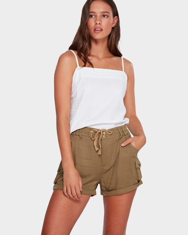 0 Desert Daisy Shorts Green 6592280 Billabong
