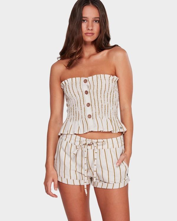 0 Holiday Stripe Shorts Beige 6592283 Billabong
