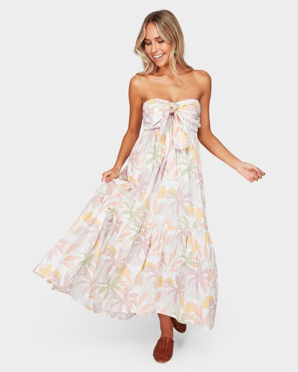 0 Atlantis Maxi Dress Beige 6592487 Billabong
