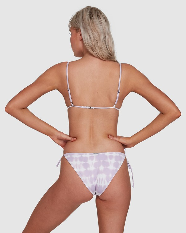 0 Cloud Tropic Tie Side Bikini Bottoms Purple 6592555M Billabong