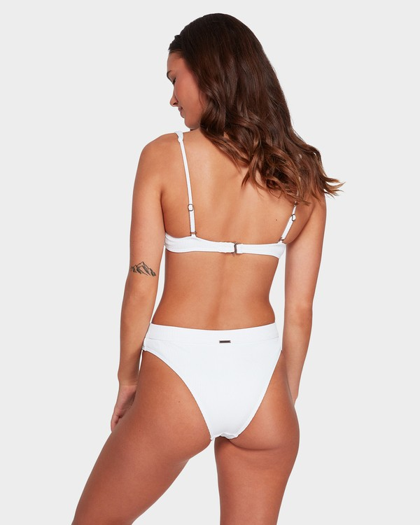 0 Misty Skies Maui Rider Bikini Bottoms White 6592579 Billabong