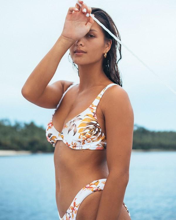 0 Paradiso Bra Bikini Top White 6592692M Billabong