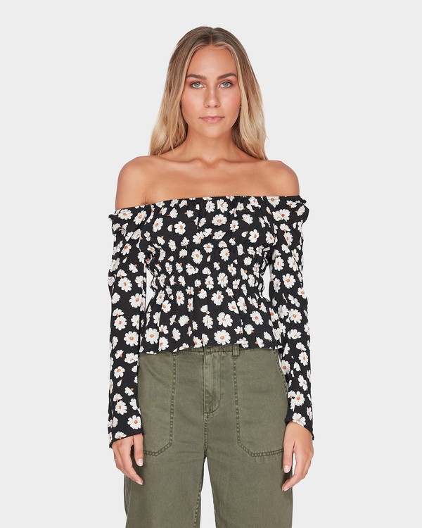 0 MARGHERITA TOP Black 6595109 Billabong