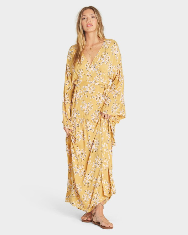 0 MY FAVORITE DRESS Yellow 6595494X Billabong