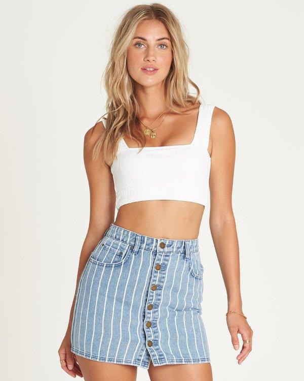 0 Good Life Indigo Skirt Blue 6595549X Billabong
