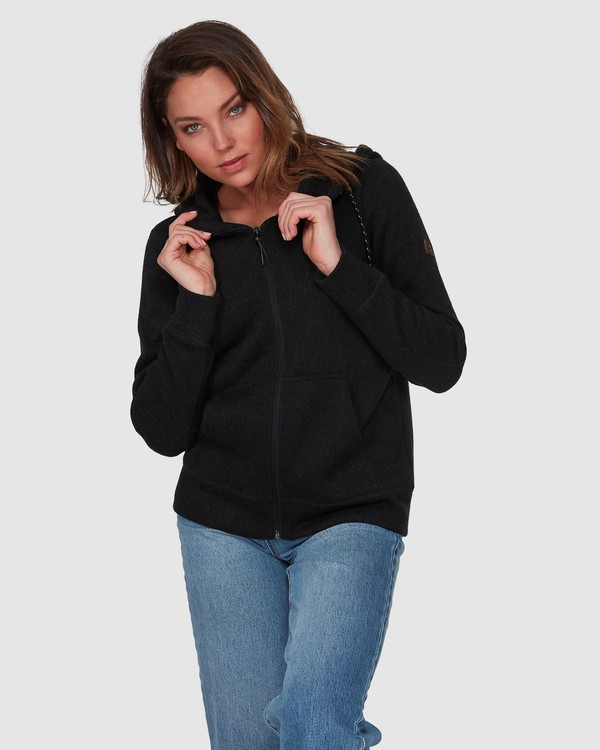0 BOUNDARY ZIP UP Black 6595734 Billabong