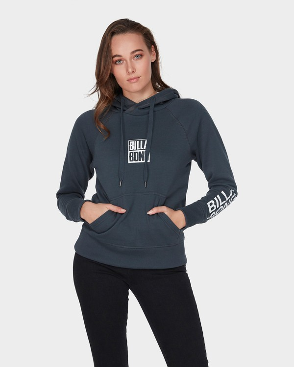 0 DOWN THE LINE POP HOOD Black 6595743 Billabong