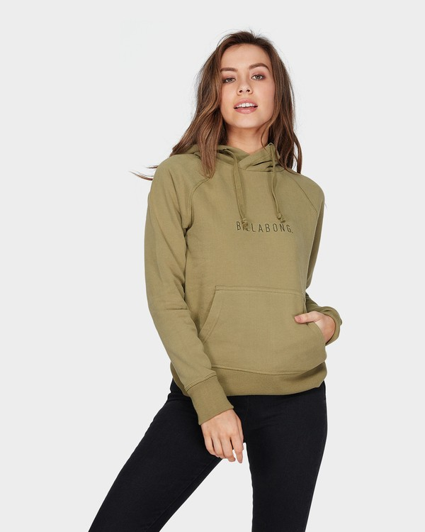 0 VITAL POP HOOD Green 6595755 Billabong