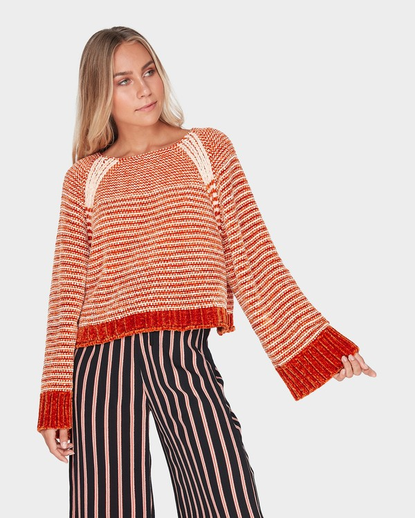0 HARLIE PULLOVER Brown 6595794 Billabong