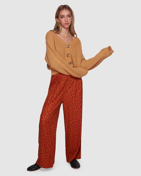 0 COME BACK FOR ME PANTS Orange 6596401 Billabong
