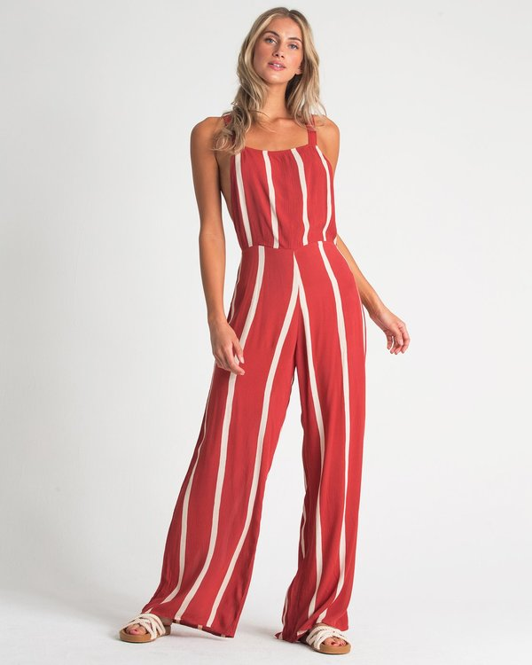 0 STILL HERE JUMPSUIT Red 6596507X Billabong