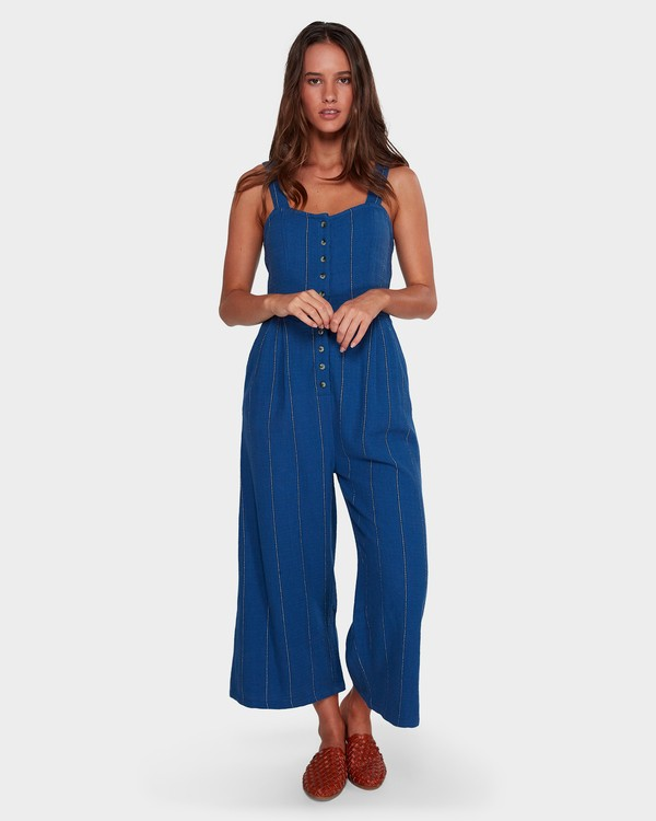 0 PAINT THE TOWN JUMPSUIT Blue 6596520X Billabong