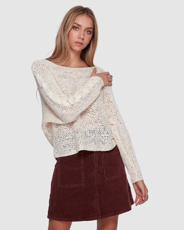 0 CHILL OUT KNIT White 6596794X Billabong
