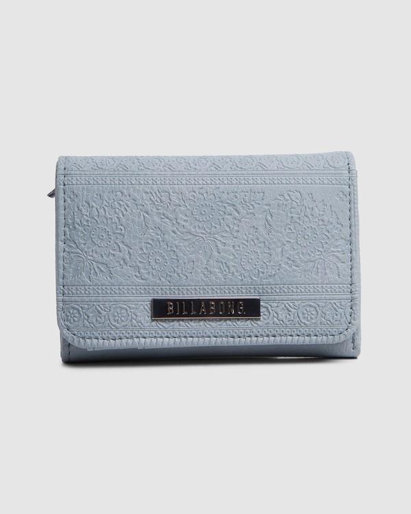 0 Lu Lu Wallet Blue 6603201 Billabong
